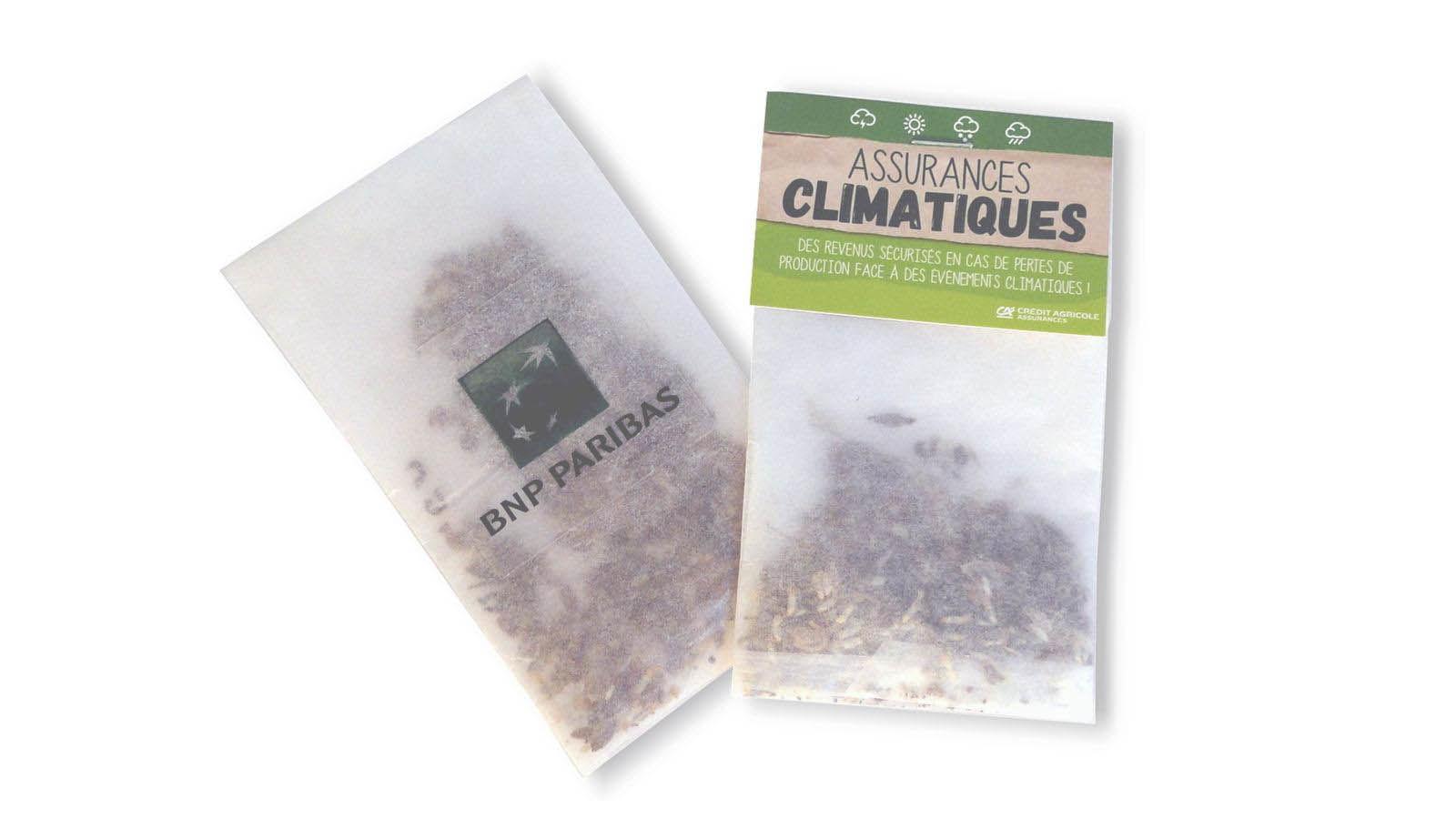Sachet Calque | Sachet Calque Écologique Publicitaire | Sachets de Graines Publicitaires | Plus de 80 Variétés | KelCom