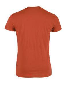 Leads | T-shirt Écologique Publicitaire Orange 12