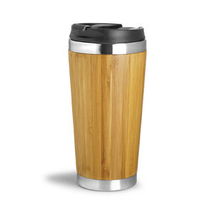 Wood You | Mug isotherme leakproof 410 ml Écologique Publicitaire